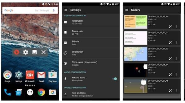 AZ Screen Recorder Aplikasi Perekam Layar Android Terbaik Tanpa Root