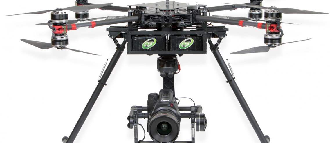 Aerial Technology International Thor X4 Drone Terbesar Di Dunia