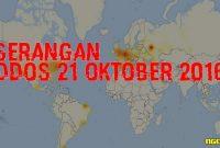 Berita Dan Penjelasan Serangan DDoS 21 Oktober 2016