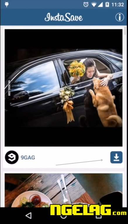 Cara Menyimpan Foto Dari Instagram Di Smartphone Android Lalu Buka Aplikasi Instasave