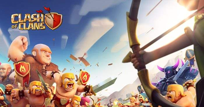 Clash Of Clans Game Smartphone Paling Popular Saat Ini Di Indonesia dan Youtube Gaming Dunia