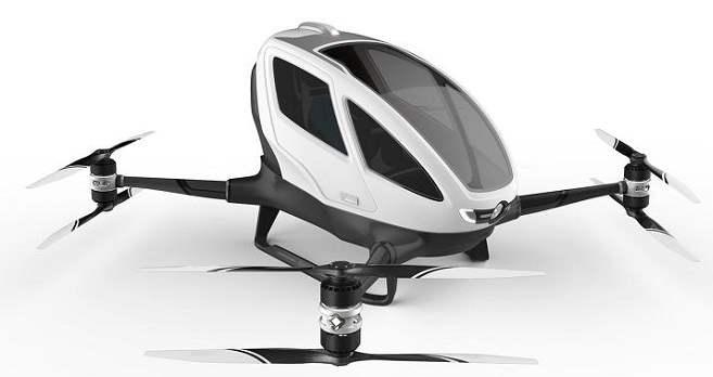 EHang 184 Drone Terbesar Di Dunia