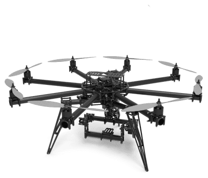 FreeFly Systems Cinestar 8 Drone Terbesar Di Dunia