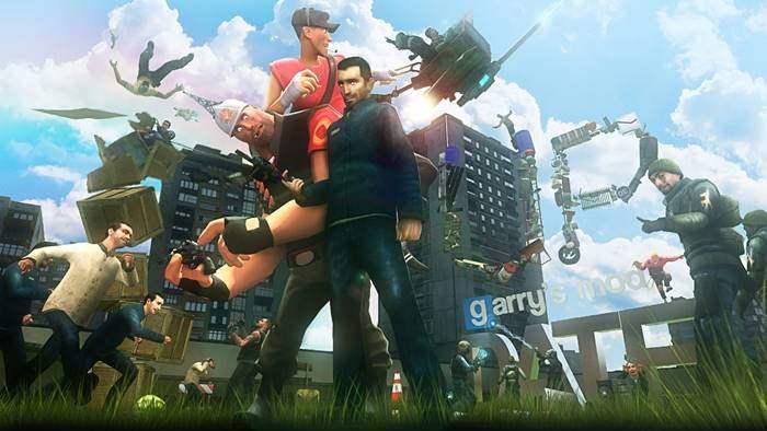 Garry's Mod Game Paling Popular Saat Ini Di Indonesia dan Youtube Gaming Dunia