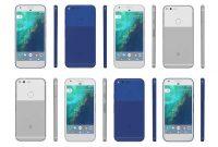 Google Pixel Dan Pixel XL Biru dan Silver Verizon