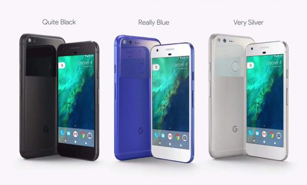 Google Pixel Resmi Dirilis Dalam 3 Pilihan Warna