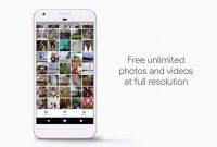 Google Pixel Unlimited Cloud Storage