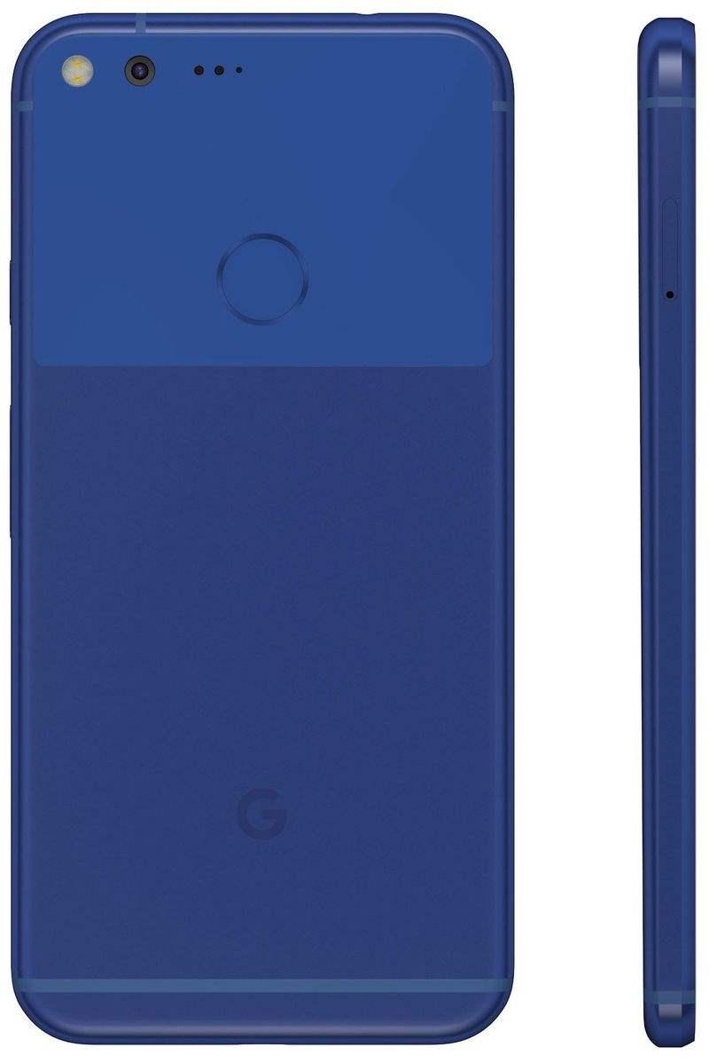 Google Pixel Biru