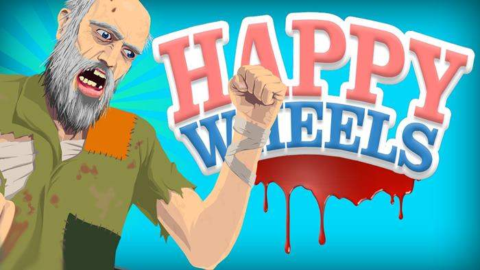 Happy Wheels Game Paling Popular Saat Ini Di Indonesia dan Youtube Gaming Dunia