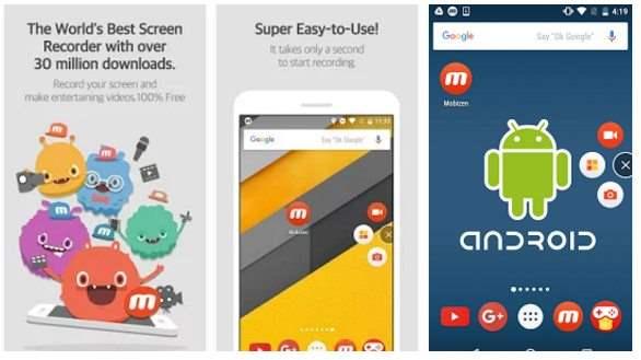 Mobizen Screen Recorder Aplikasi Perekam Layar Android Kitkat Tanpa Root