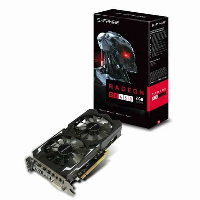 Rakit PC Gaming 3 Jutaan - Sapphire Radeon RX 460 2GB