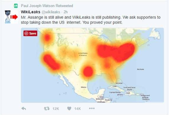 Siapa Yang Melakukan Serangan DDoS 21 Oktober 2016