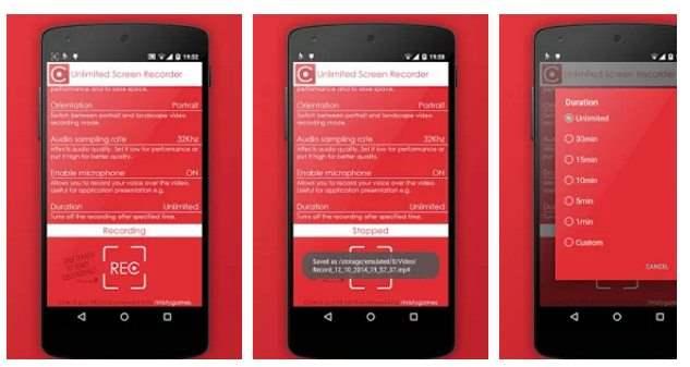 Unlimited Screen Recorder Aplikasi Perekam Layar Android Terbaik Tanpa Root