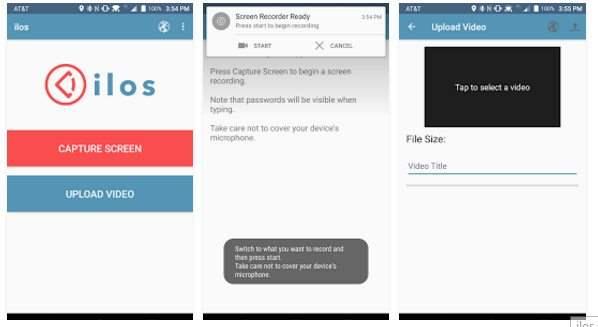 ilos screen recorder Aplikasi Perekam Layar Android Terbaik Tanpa Root
