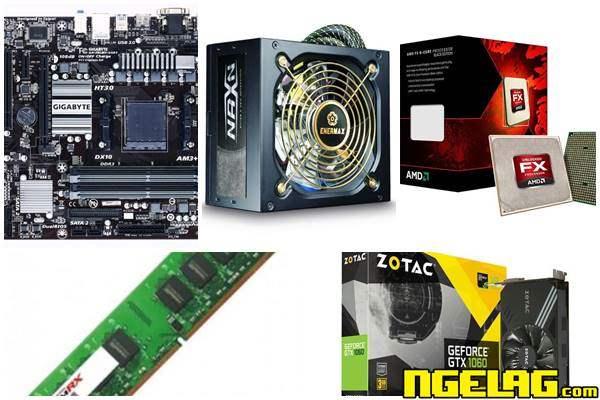 Daftar Komponen Rakit PC Gaming 6 Juta Terbaru Terbaik