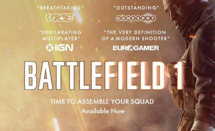 Rakit PC Gaming Untuk Main Battlefield 1