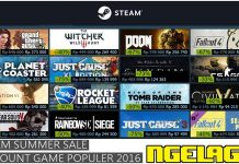 Steam Summer Sale Discount PC Game Original November 2016