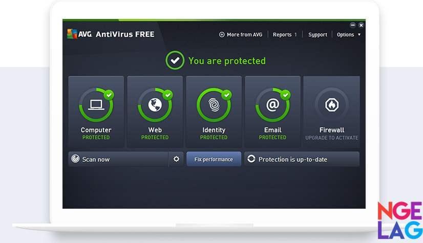 AVG Free Antivirus Gratis Terbaik