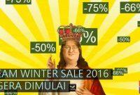 Jadwal Steam Winter Sale Desember 2016 Sampai Januari 2017