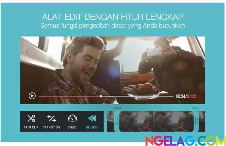 Aplikasi Edit Video Android Gratis Terbaik dan Mudah Digunakan - FilmoraGo