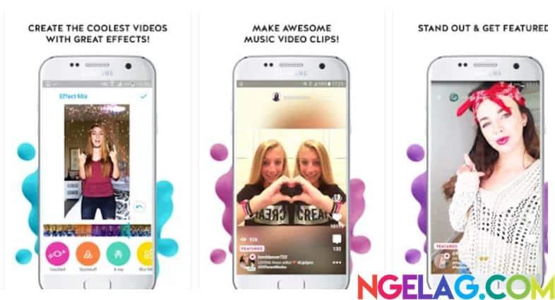 Aplikasi Edit Video Android Gratis Terbaik dan Mudah Digunakan - Funimate
