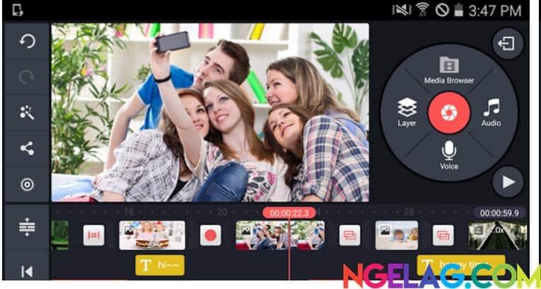 Aplikasi Edit Video Android Gratis Terbaik dan Mudah Digunakan - KineMaster