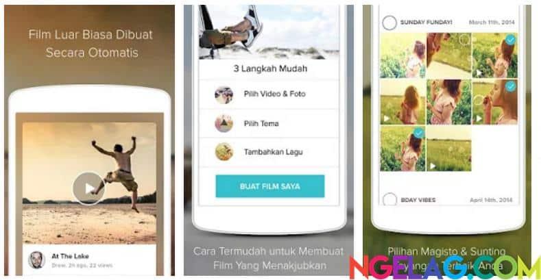 Aplikasi Edit Video Android Gratis Terbaik dan Mudah Digunakan - Magisto Video Editor & Maker