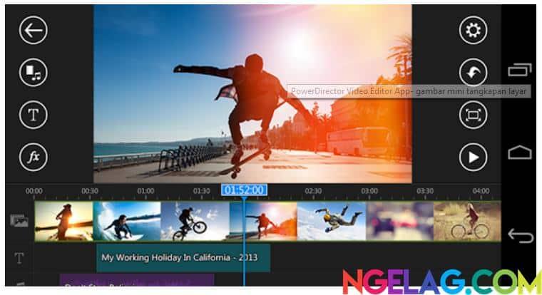 Aplikasi Edit Video Android Gratis Terbaik dan Mudah Digunakan - PowerDirector