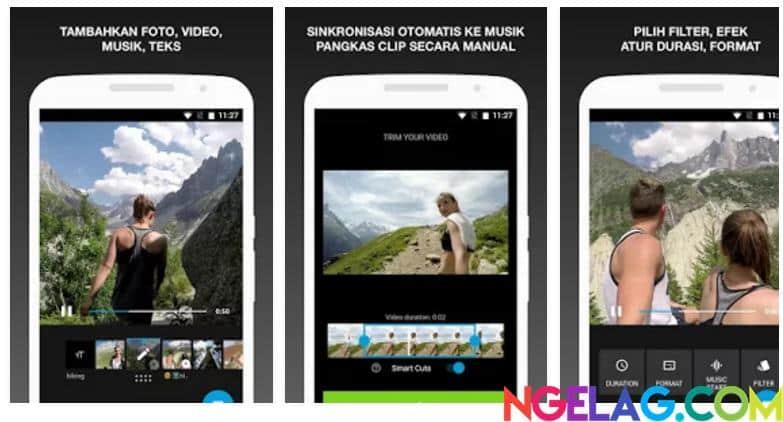 Aplikasi Edit Video Android Gratis Terbaik dan Mudah Digunakan - Quik