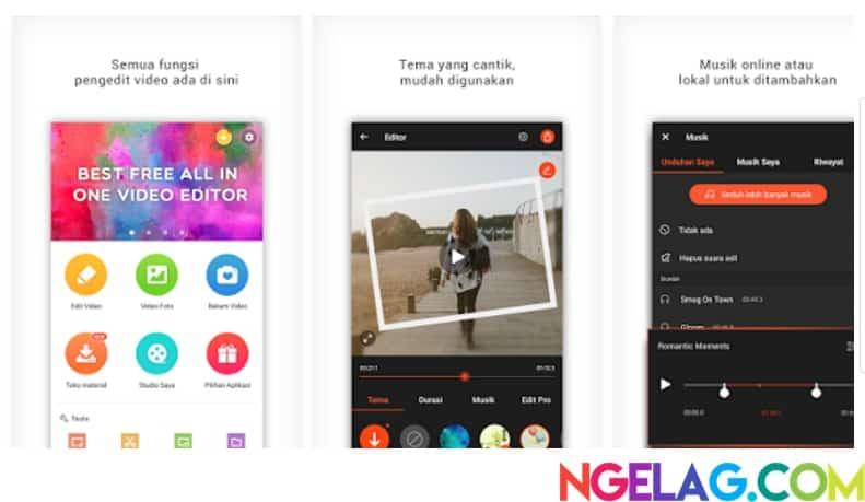 Aplikasi Edit Video Android Gratis Terbaik dan Mudah Digunakan - VideoShow