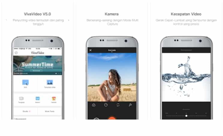 Aplikasi Edit Video Android Gratis Terbaik dan Mudah Digunakan - VivaVideo