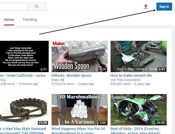 Cara Mendapatkan Uang Dari YouTube - Mendaftar Akun YouTube