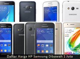 Daftar Harga HP Samsung Murah Dibawah 1 Juta Terbaru