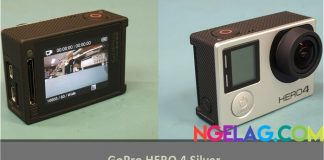 Harga GoPro HERO 4 Silve Spesifikasi Review