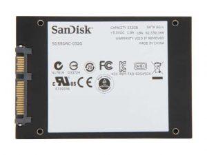 Harga SSD SanDisk SDSSDRC-032G-G26 32GB
