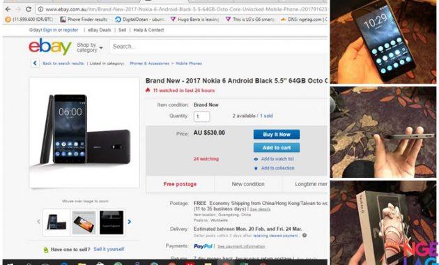 Nokia 6 Unlocked Bisa Operator Indonesia Dijual Di Ebay Dengan Harga 5 Jutaan
