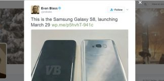 Samsung Galaxy S8 Rilis 29 Maret 2