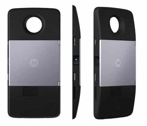 Spesifikasi Moto Mods Moto Insta-Share Projector