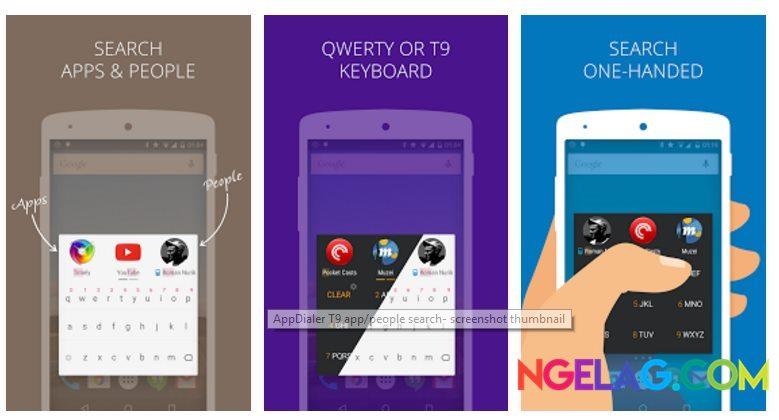 Aplikasi Android Tercanggih AppDialer T9 app people search