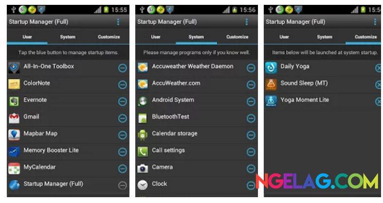 Aplikasi Android Tercanggih Startup Manager
