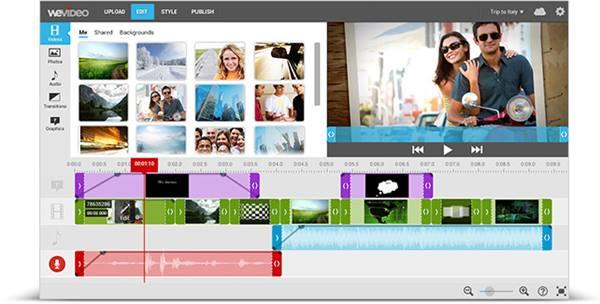 Aplikasi Edit Video Vlog YouTube - WeVideo