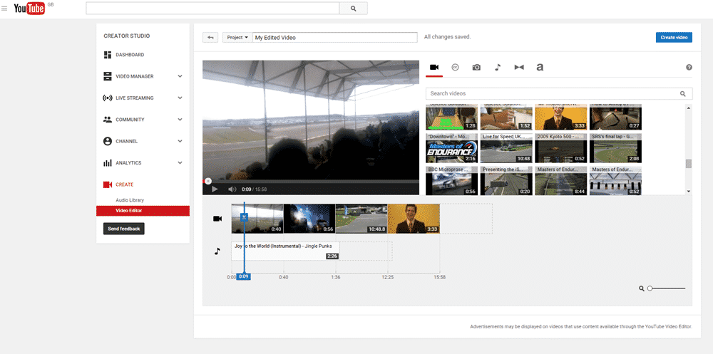 Aplikasi Edit Video Vlog YouTube - YouTube Editor