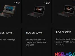 Harga Laptop Asus ROG Termurah Hingga Termahal
