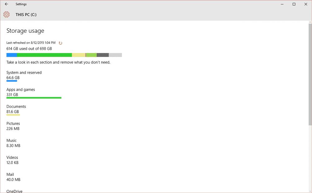 Kelebihan Windows 10 Memiliki Sistem Penyimpanan Lebih Terorganisir