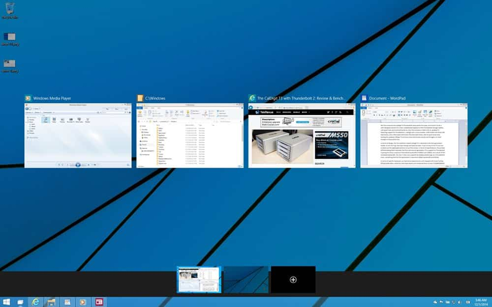 Kelebihan Windows 10 Multi Desktop