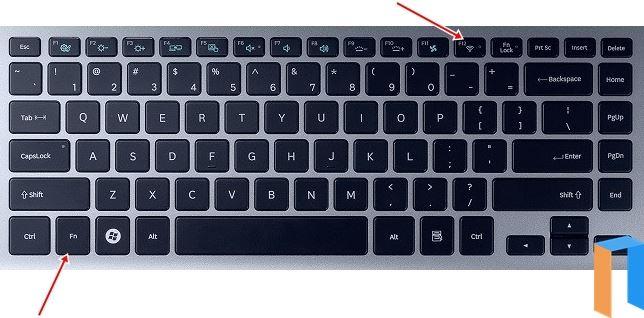 Cara Mengaktifkan WiFi Di Laptop Melalui Tombol Kombinasi FN Dan F12