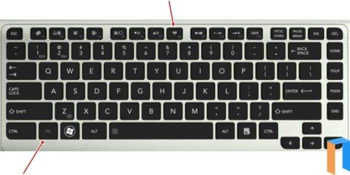 Cara Mengaktifkan WiFi Di Laptop Melalui Tombol Kombinasi FN Dan F8