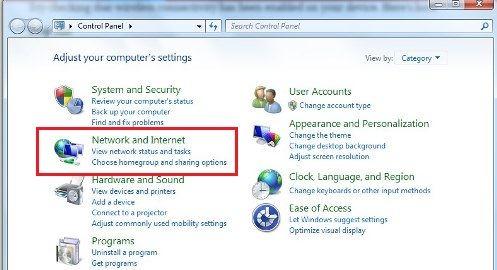Cara mengaktifkan wifi di komputer windows 7 1