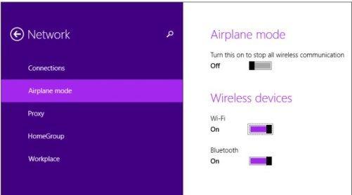 Cara mengaktifkan wifi di komputer windows 8