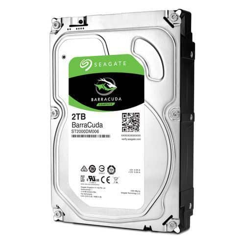 Rakit PC Untuk Editing Video 10 Jutaan - Seagate Barracuda 2TB SATA3